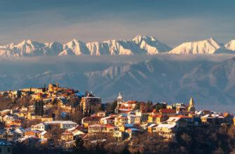 поездка в Кутаиси зимой