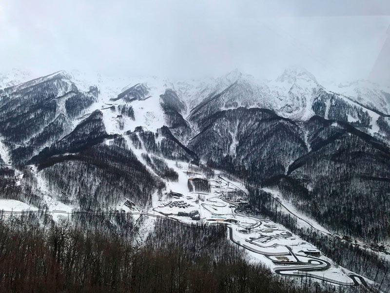 горы Розы Хутор