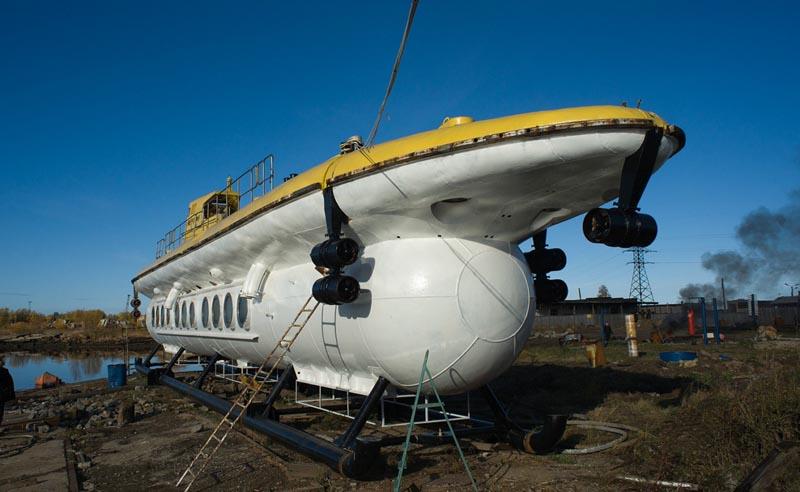 корабль для погружения