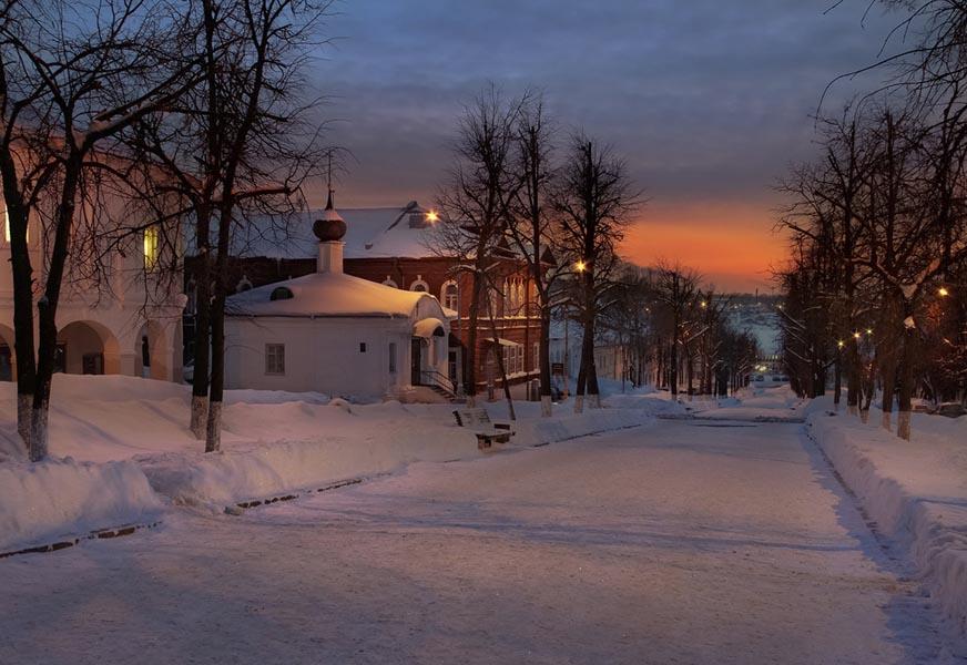 поездка в Кострому зимой