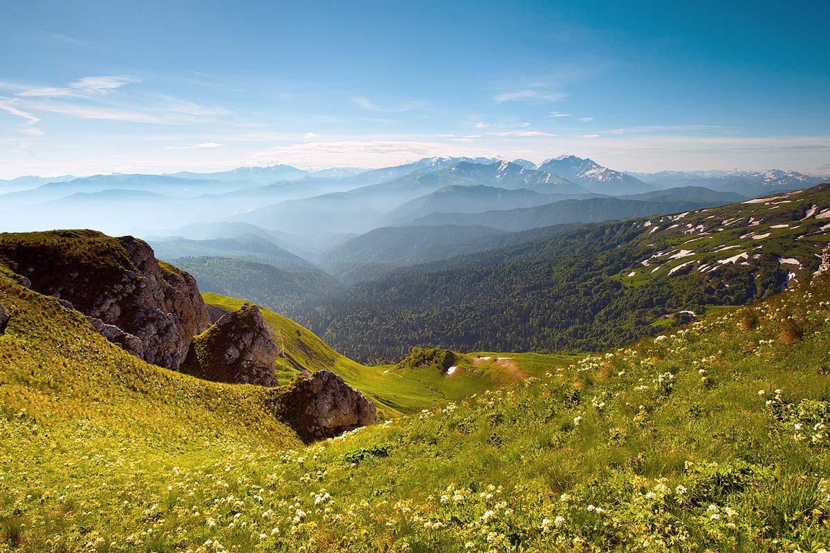 Фото гор Адыгеи
