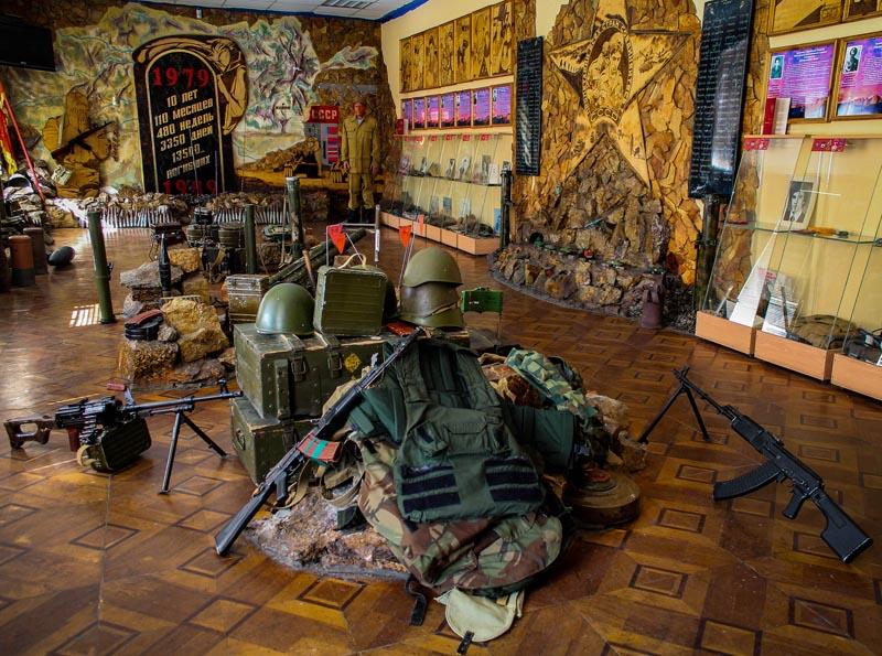 экспонаты войны
