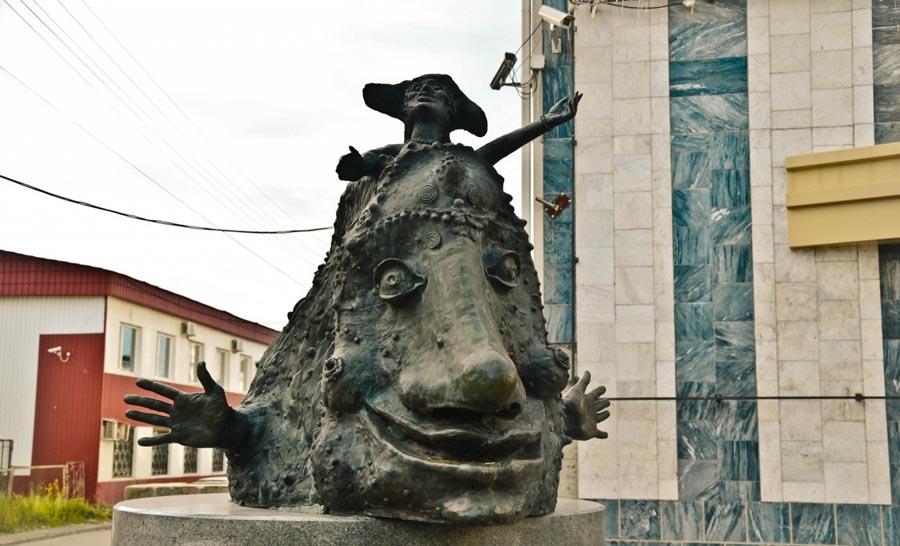 Памятник улыбке