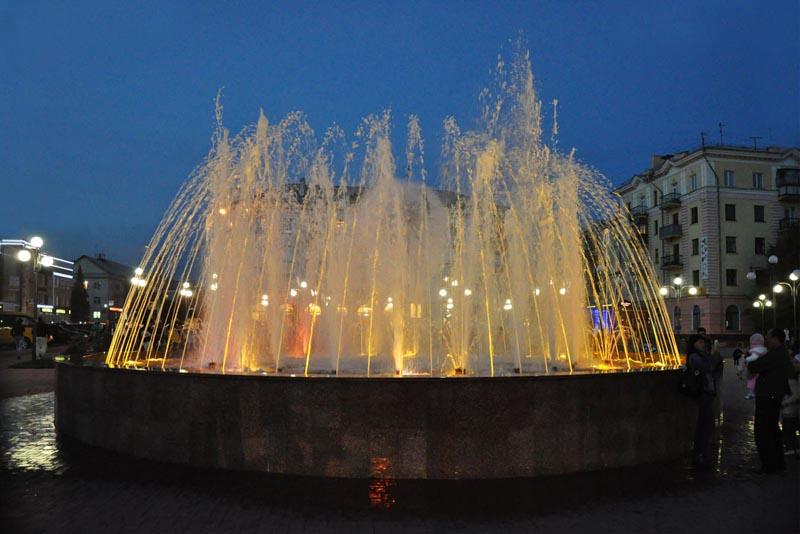 фонтан в городе
