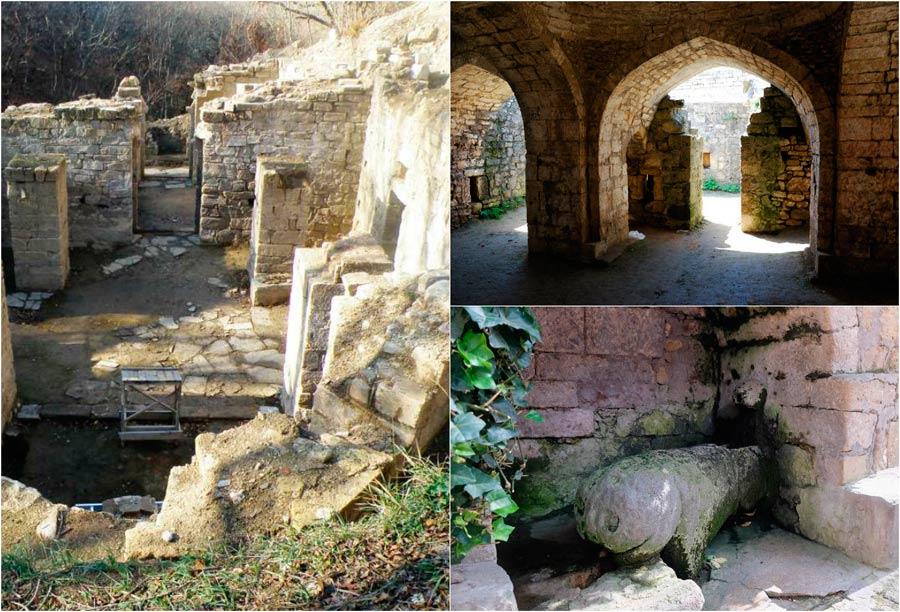 Развалины старинной церкви