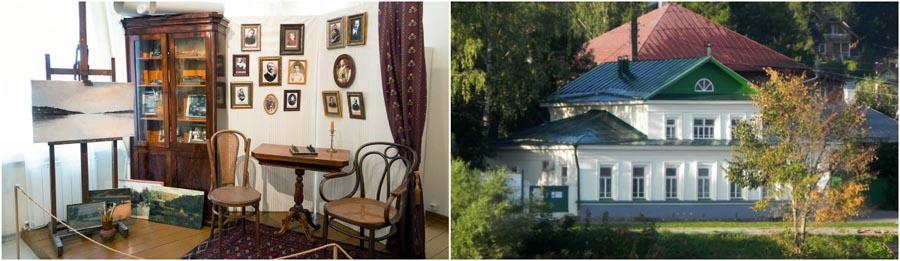 Мемориальный дом-музей Левитана