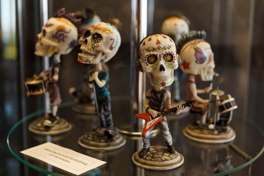 Музей скелетов и черепов