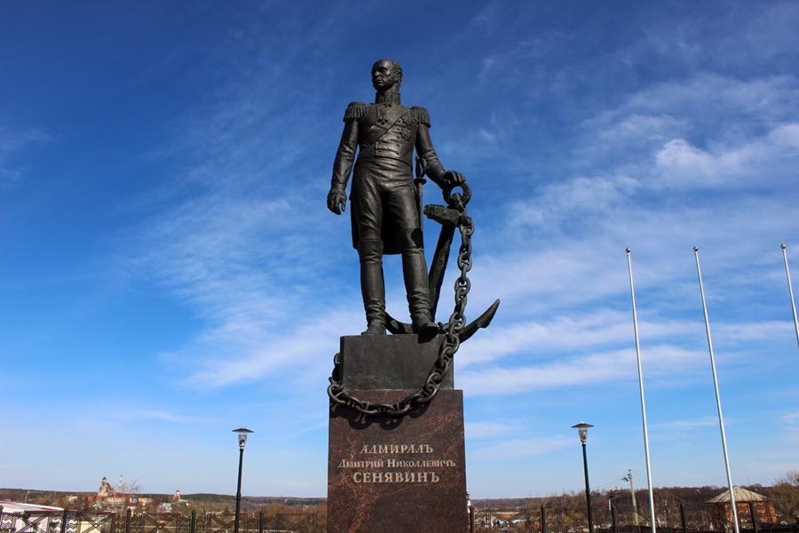 Памятник Сенявину