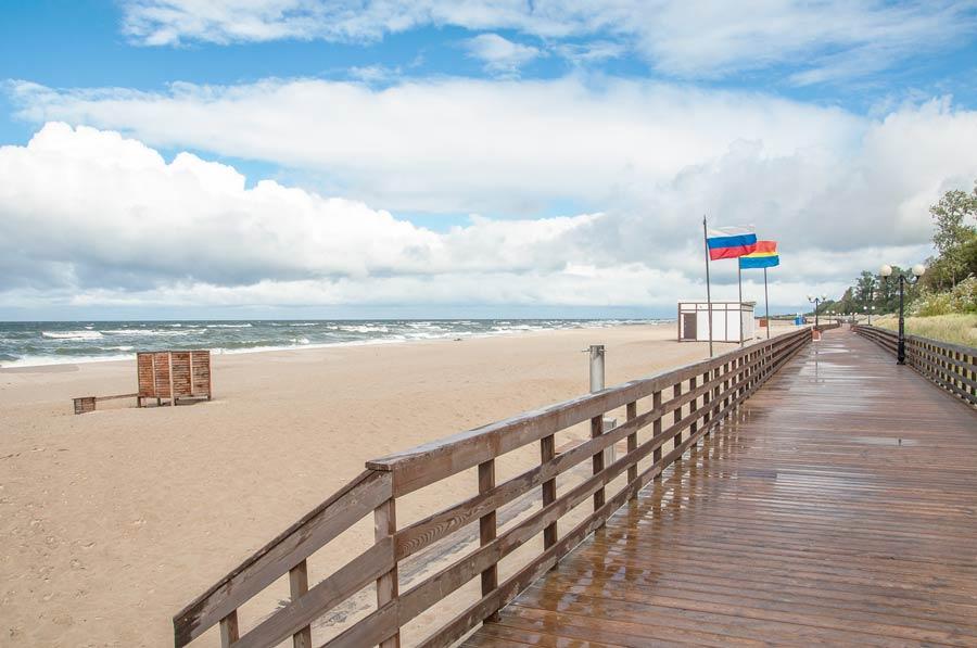 янтарный пляж фото ценах