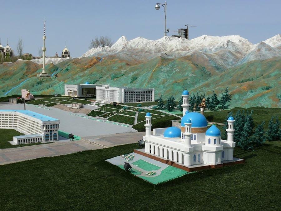 """Карта Казахстана """"Атамекен"""""""