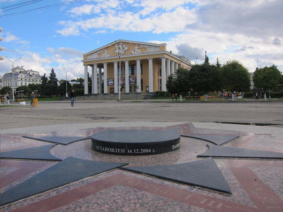 Чебоксарская Красная площадь