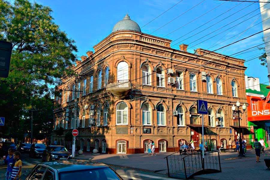 Старинные купеческие здания