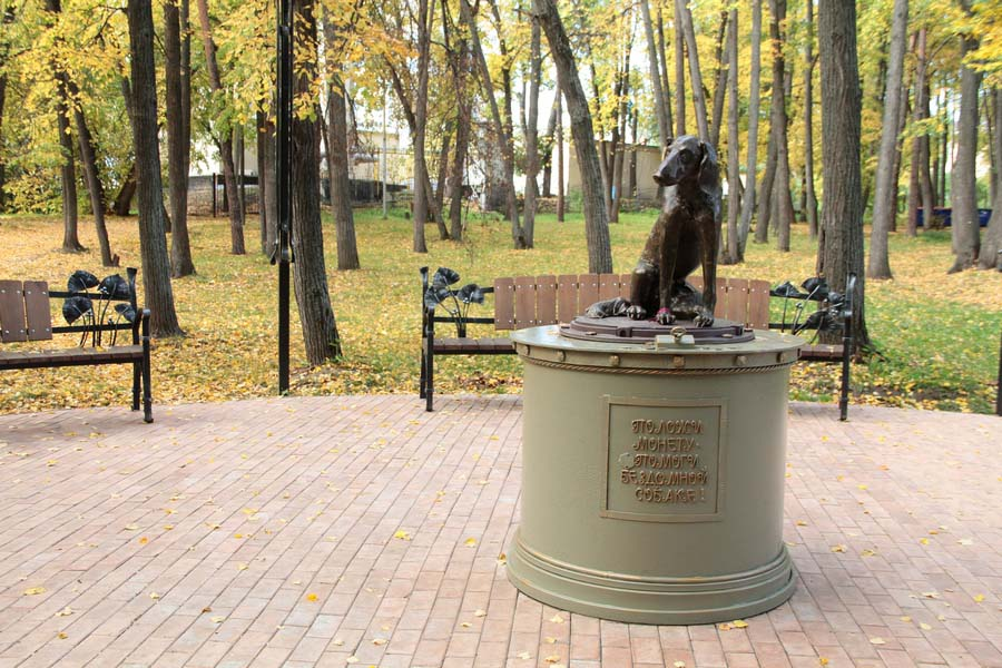 Памятник-копилка Бездомная собака
