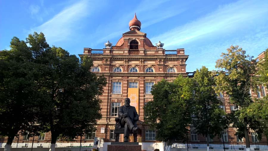 Здание Елабужского университета