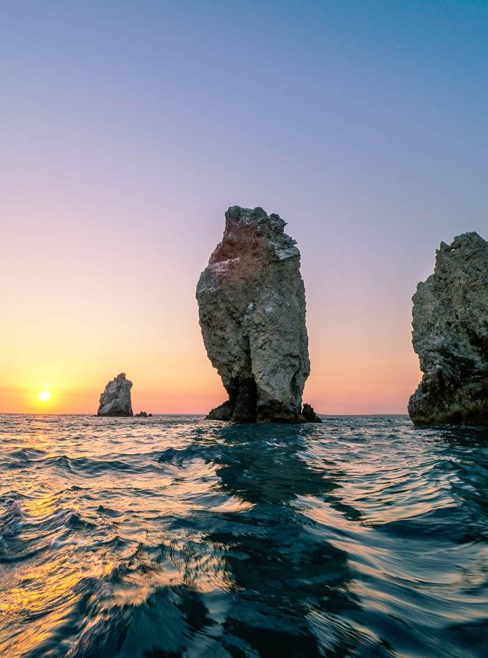 Каменные парусники
