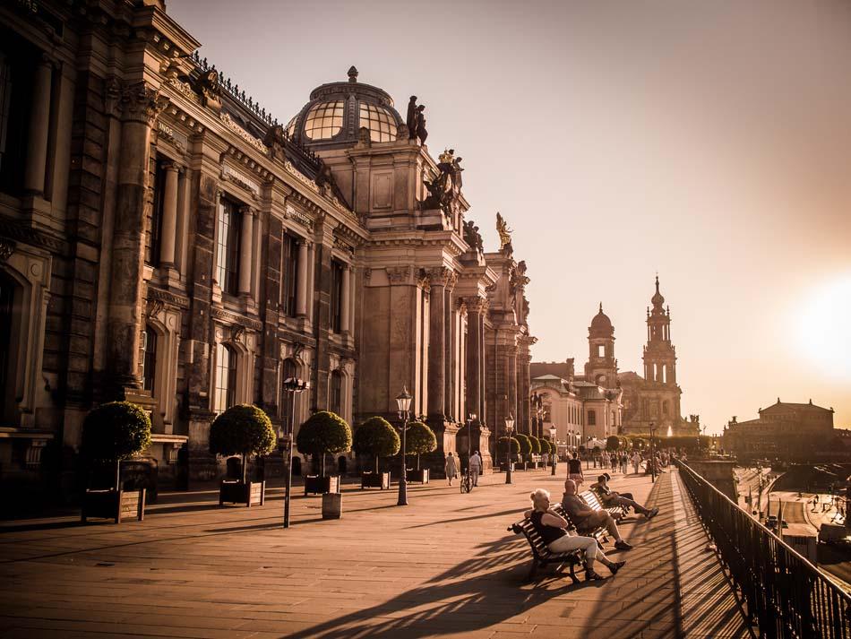 Фото города Дрезден