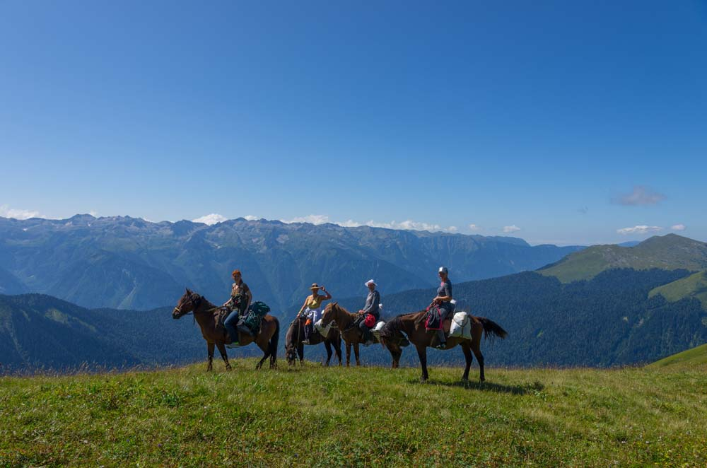 Прогулки на конях