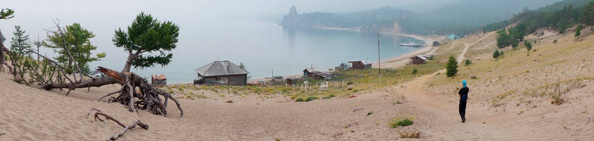 Панорама Бухты Песчаной