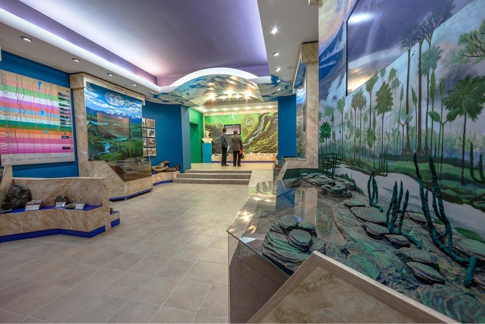 Фото зала в Байкальском музее