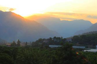 Фото с отдыха в Кемере летом