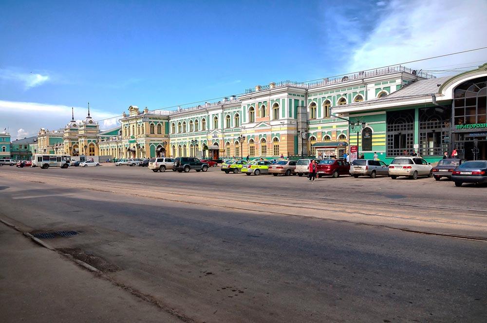 Ж/Д вокзал Иркутска
