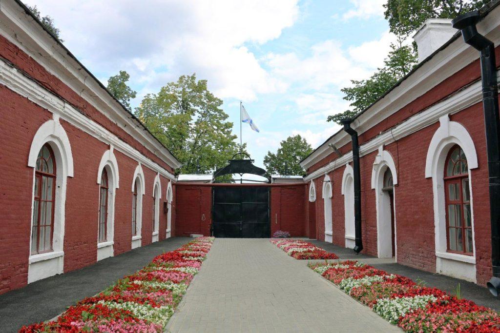 Кронштадтское адмиралтейство внутри