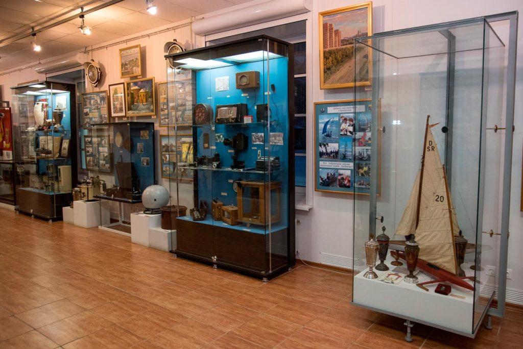 Экспонаты краеведческого музея в Кроншдтате