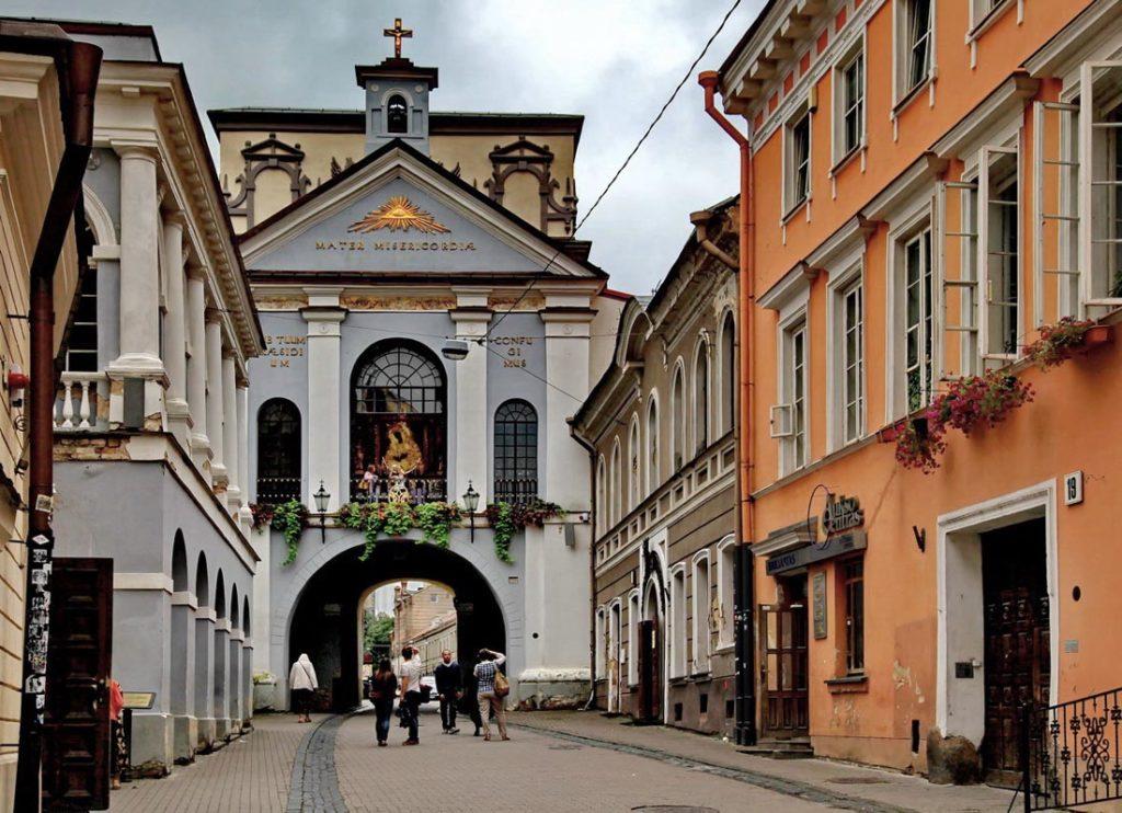 Старая часть Вильнюса